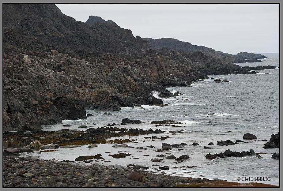 Felsenküste am Eismeer